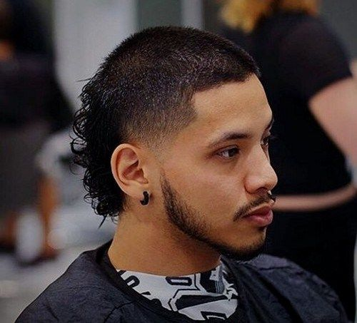Mullet Haircuts Party In The Back Business In The Front In 2019