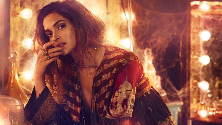 Arilena Ara Nentori Bess Gon Remix Vogue India Deepika Padukone Bollywood Celebrities