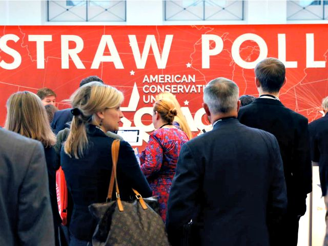 CPAC Straw Poll Finds Overwhelming Support for Donald Trump - Breitbart