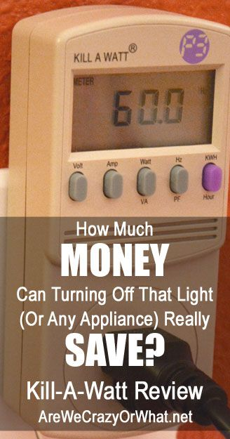 A review of the Kill-A-Watt Electricity Usage Monitor, and some tests of energy usage around our home. #beselfreliant