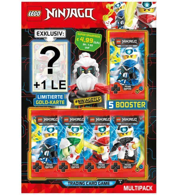 Lego Ninjago Serie 5 Trading Cards Multi Pack Stickerpoint In 2020 Lego Ninjago Lego Ninjago