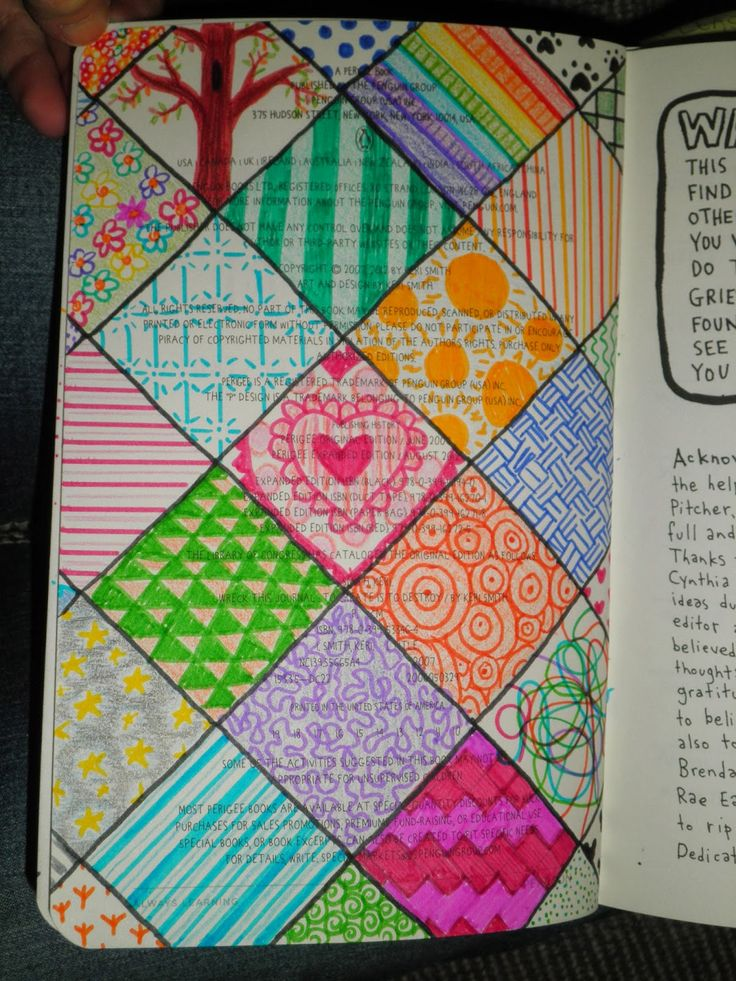 wreck this journal : doodle on copyright page