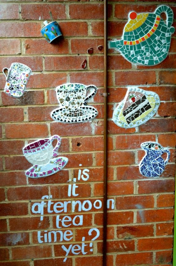 Mosaic at Cafe Derailleur, Wangaratta