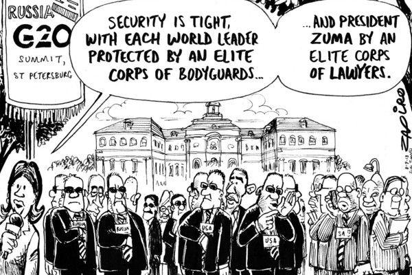 Zapiro: G20 Summit - Mail  Guardian