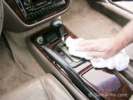 how to clean dashboard glass