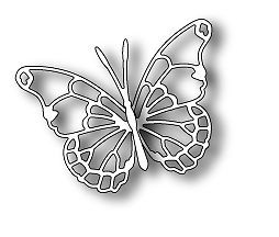 Memory Box Universal Cutting Die - Memorybox Vivienne Butterfly 98265