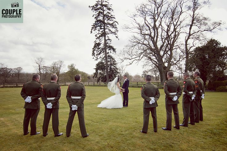 Irish Military Weddings Photographed by Couple Photography.