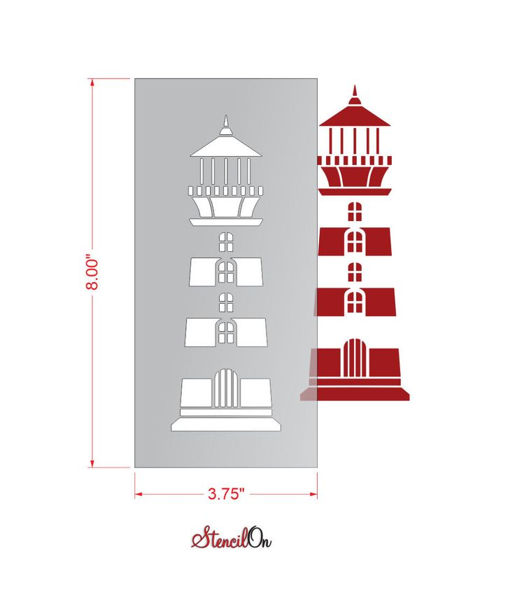 25 unique lighthouse craft ideas on pinterest the boat led 8 lighthouse craft and wall stencil reusable mylar stencilon pronofoot35fo Images