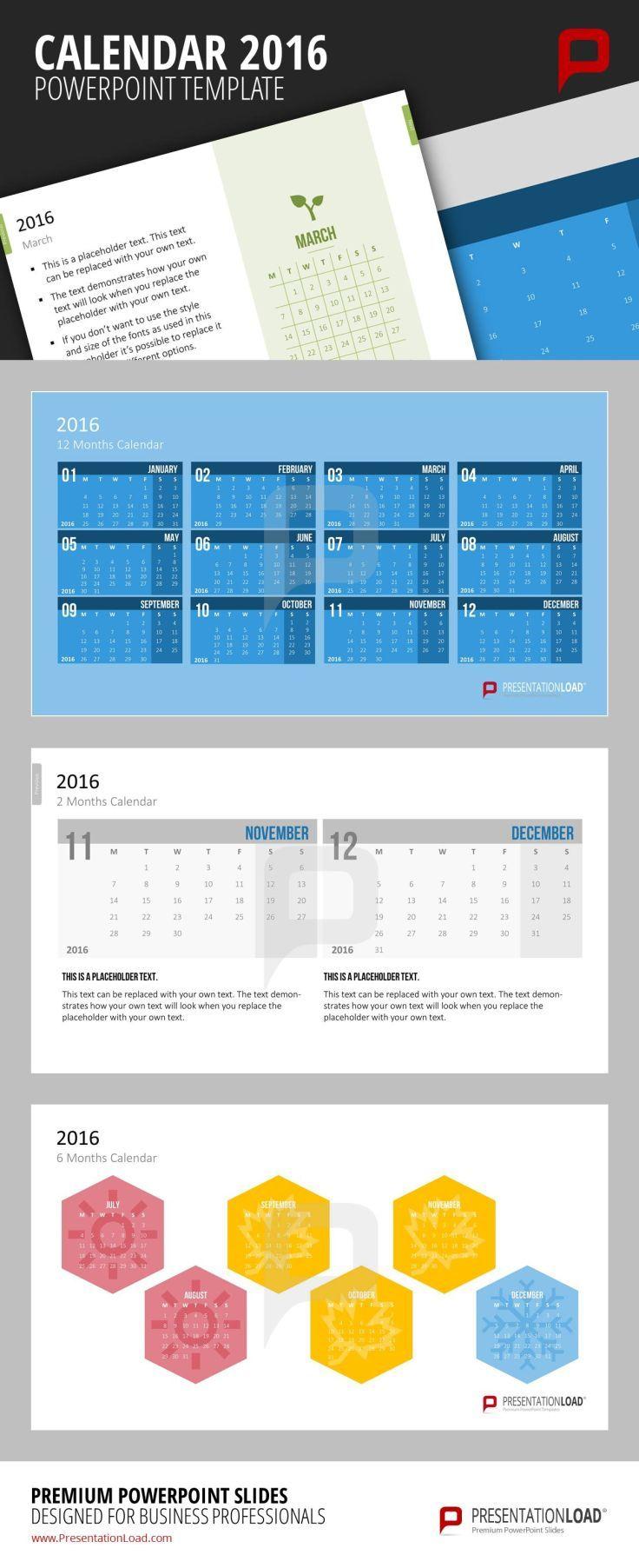 Neue Kalender-Vorlagen für 2016