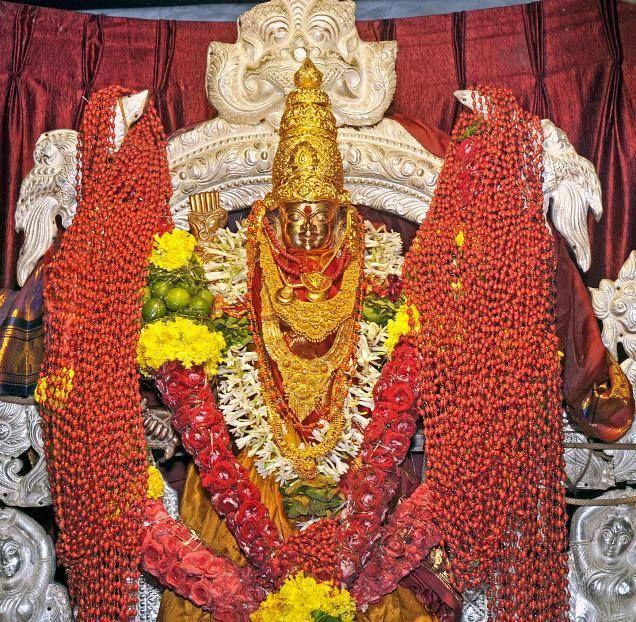 Goddess Kanaka Durga - http://ift.tt/1HQJd81