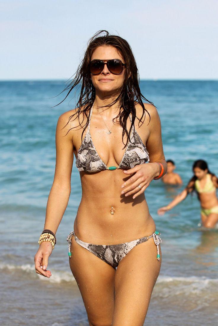 Menounos malfunction wardrobe maria nude bikini
