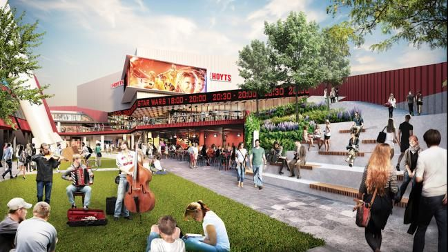 WORK will start today on two new precincts — one for entertainment, the other for food — in a $150 million development at Harbour Town in Docklands.
