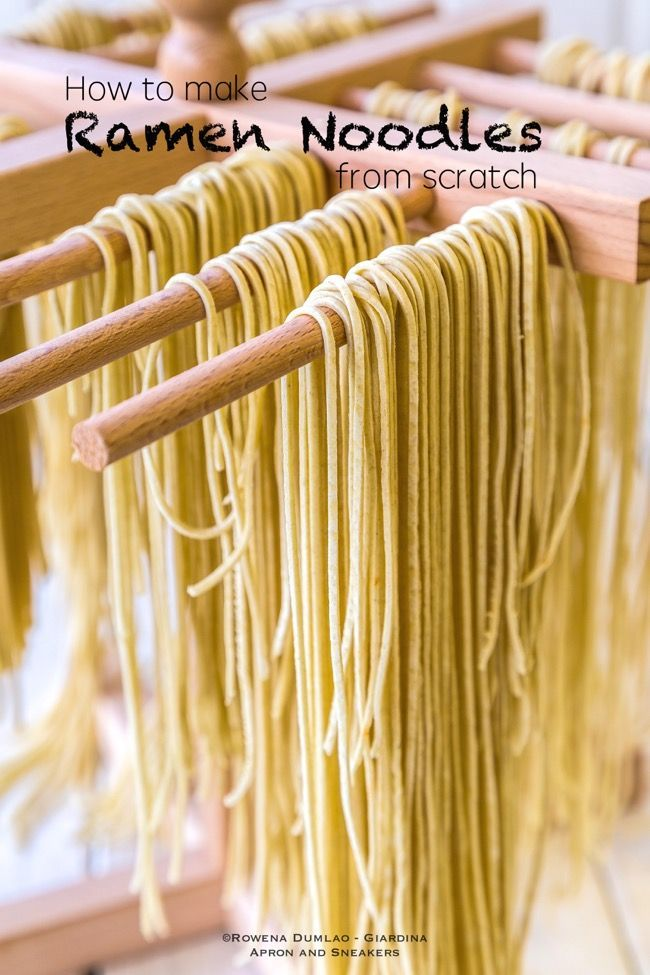 Apron and Sneakers - Cooking & Traveling in Italy and Beyond: How to Make Ramen from Scratch