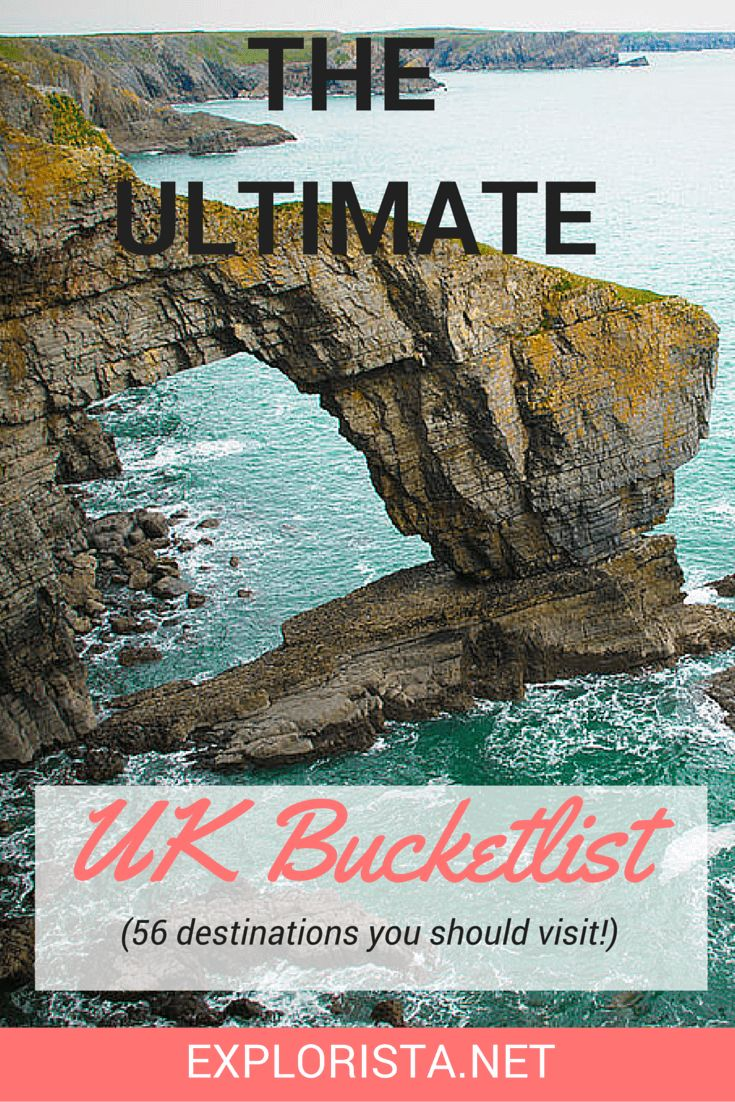 Soon I will be making some road trips through the country! This is the ultimate Great Britain bucket list: 56 dream places you should not miss.
