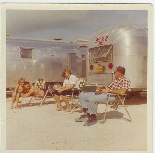 cool vintage trailer photo