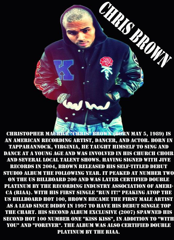 CHRIS BROWN BIO