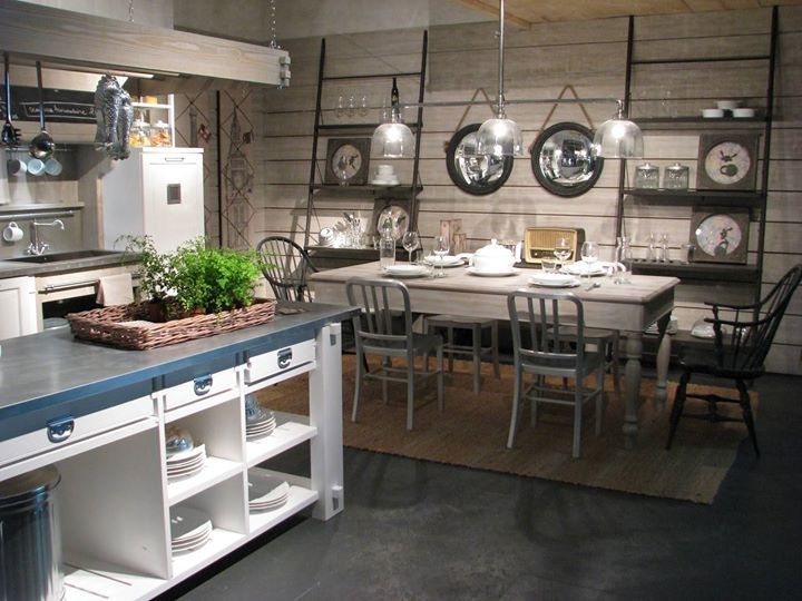 That kitchen that looks like the ones on cooking show on TV.