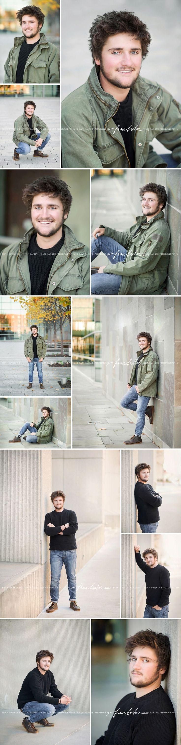 senior guy poses, how to pose a senior boy, downtown fall senior pictures, ohio photographer, senior guy style,