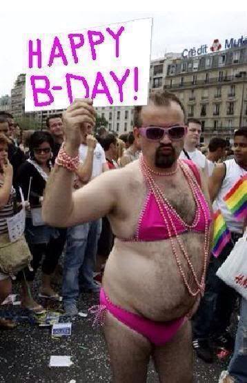 Seksi bikini moški vesel rojstni dan me pokvari-5016