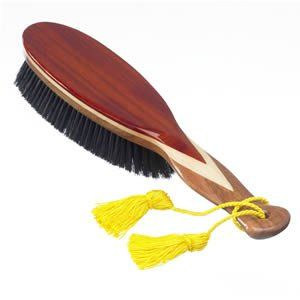 Kent CR8 Clothing Brush by Kent. $139.90. The World's Finest Clothes Care Brushes.. An incredibly smart, large, hand finished clothes brush, made with 3 veneered woods and pure black bristle. Sold in presentation box.  A fantastic all round clothes brush that is as effective as it beautiful.