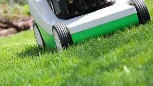 Rasenpflege im Frühjahr. (Quelle: Thinkstock by Getty-Images)