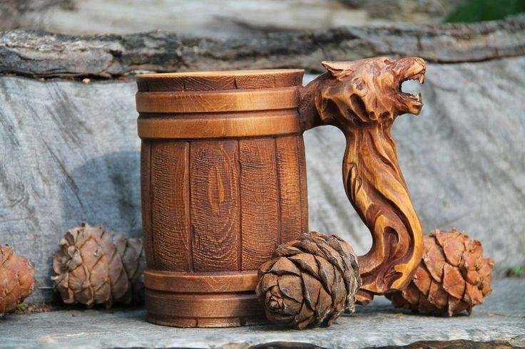 Bear Beer mug. Другие интересные пивные кружки смотрите здесь http://blogosum.com/posts/promo-posuda/