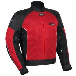 #Motorcycle Riding Gear, red mesh  #Tourmaster INTAKE AIR 3 jacket