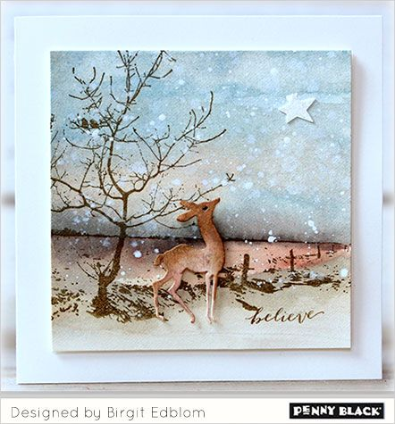 Love soft snowy skies? You are in luck! This week Birgit Edblom joins us with a trio of card creations that will have you ready to bundle up and breath the cold, crisp air. Birgit achieved an insta…