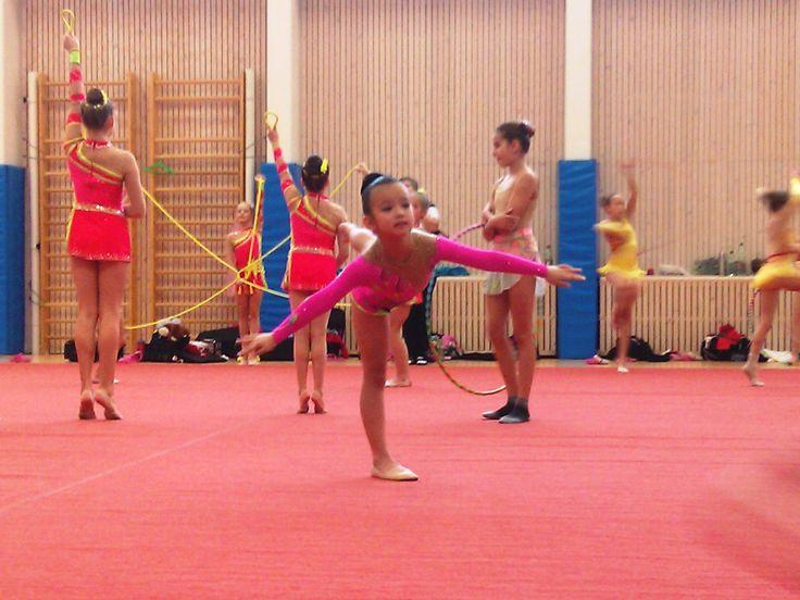 Rhytmn gymnastic