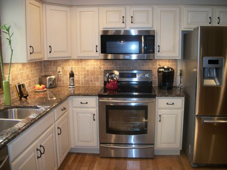This Kitchen Was Remodeled Using The Medallion Designer