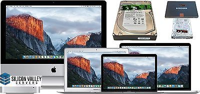 IMAC/MACBOOK 128GB SSD OSX EL CAPITAN PRE-LOADED PLUG & PLAY