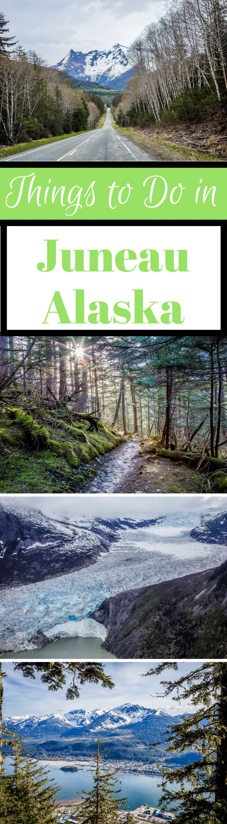 Ultimate Guide of Things to Do in Juneau, Alaska.  Our time in Juneau culminated in 5 action packed days of adventure, exploring and eating our way right into the fan club of the city. Shocked to learn that most people only spend the one day they have on a cruise ship in Juneau, we've made it our mission to convince you that you should fly in early for your cruise and take a look around. You won't regret it. #Alaska #Travel #Juneau