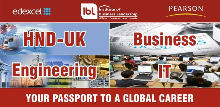 IBL, the approved center by PEARSON/Edexcel and Higher Education Commission of Pakistan offers Level 3, HND and PGD in Business, Engineering and IT. We aim to provide high-quality education at affordable prices. For further queries, please contact at +923315176206, +923335697269