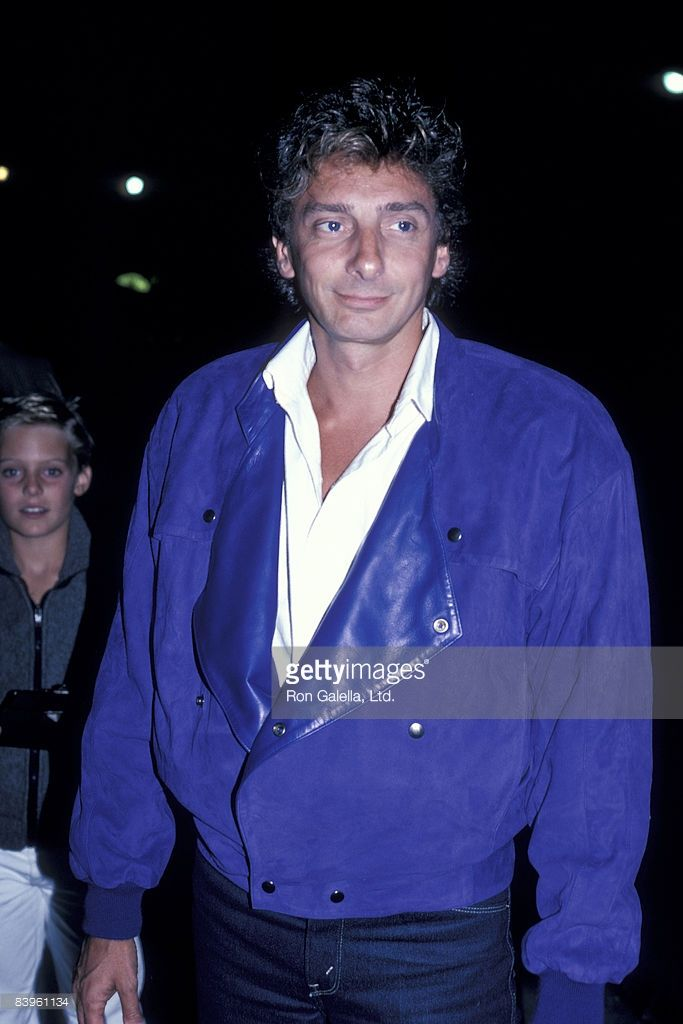 Barry Manilow Sighting at Nicky Blair's - August 13, 1986