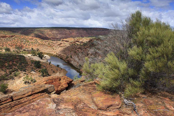 La rivière Murchison, dans le parc national de #Kalbarri. #Australie