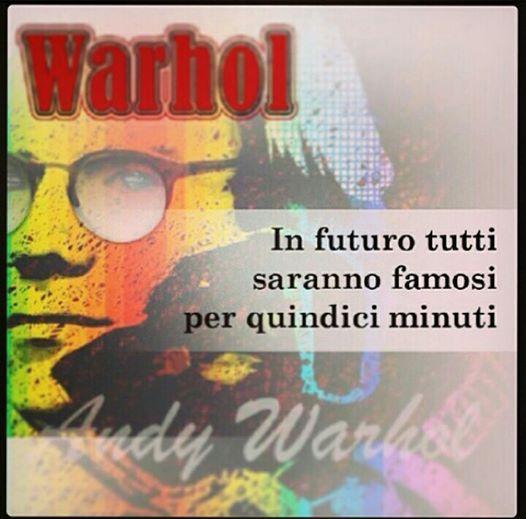 #AndyWarhol  Una figura predominante del movimento della Pop art e tra gli artisti più influenti del XX secolo.