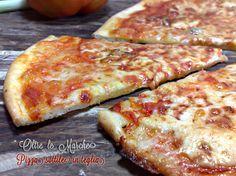 Pizza sottile in teglia, croccante | Oltre le MarcheOltre le Marche