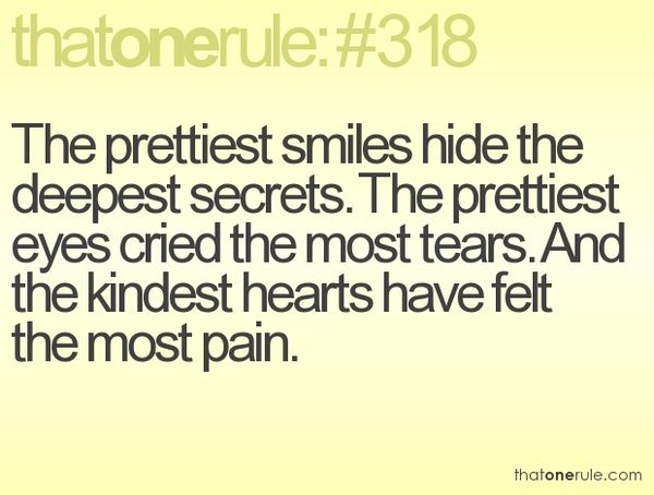 Fact.Kindest Heart, Remember This, Life, Inspiration, Quotes, True Facts, So True, Prettiest Smile, True Stories