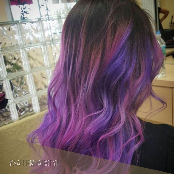 Una coloración en tonos violetas con HD Colors es la mejor manera de dar la bienvenida a la nueva temporada   ¿Te animas?  Pic : @cesarmodarosario  #SalermCosmetics #SalermHairstyle #Coloracion #TinteFantasia #HDColors #Tintes #HairColor #VioletHair #LilacHair #NewLook #Newseason #Tendencias #Trends #Hair #Cabello
