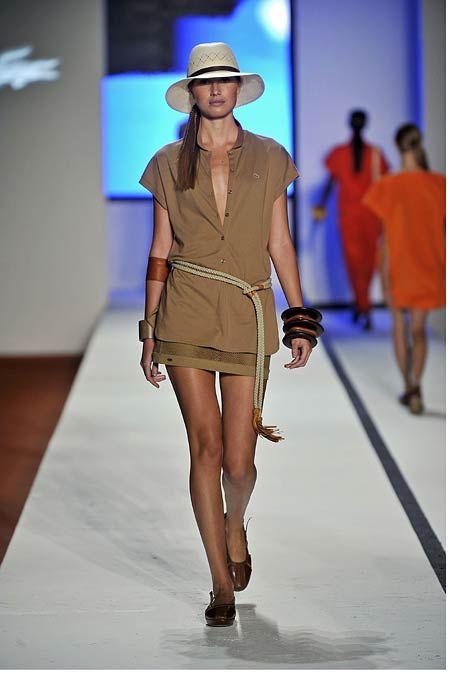 LACOSTE - New York Fashion Week  Jani Gabriel