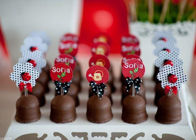 Dicas pra Festas Infantis: Joaninha