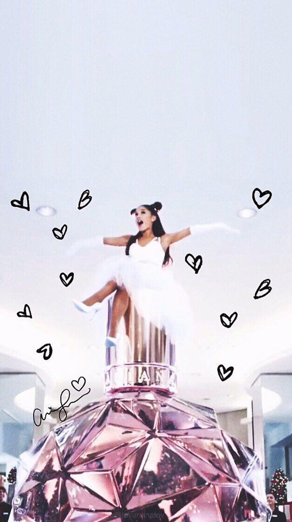 ✔ Wallpaper Lockscreen , key board and home lockscreen Ariana Grande