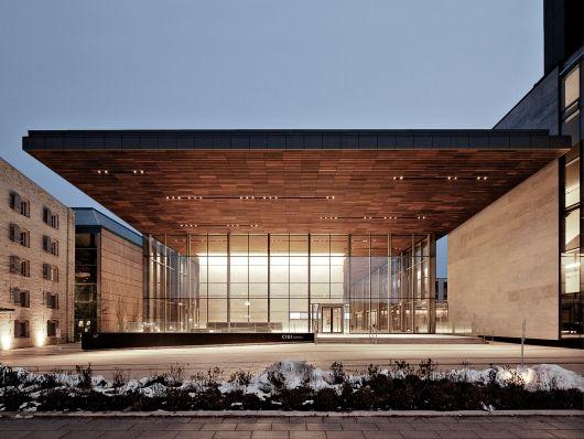 Centre for International Governance and Innovation (CIGI) Campus - Waterloo, Ontario, Canada. Photo: Maris Mezulis