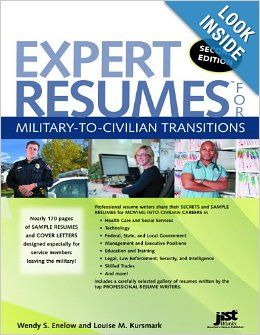 expert resumes for military to civilian transitions 2nd ed wendy enelow louise - Resume Help For Veterans
