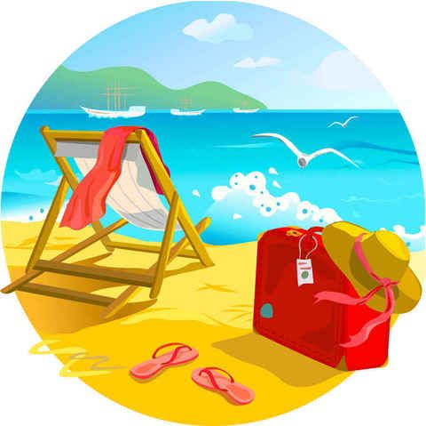 Free vector Summer Beach #6041
