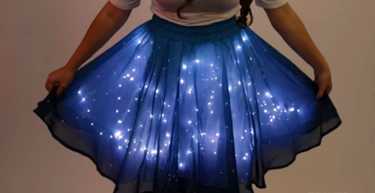 Sparkle Like Pixie Dust and Disney Magic with the Twinkling Stars Skirt