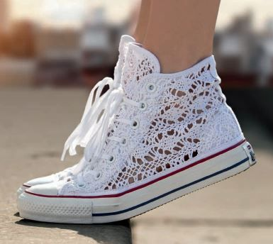 Ct Comme 70 Hi Poney Cuir Cheveux - Chaussures - High-tops Et Baskets Converse DJre9xE