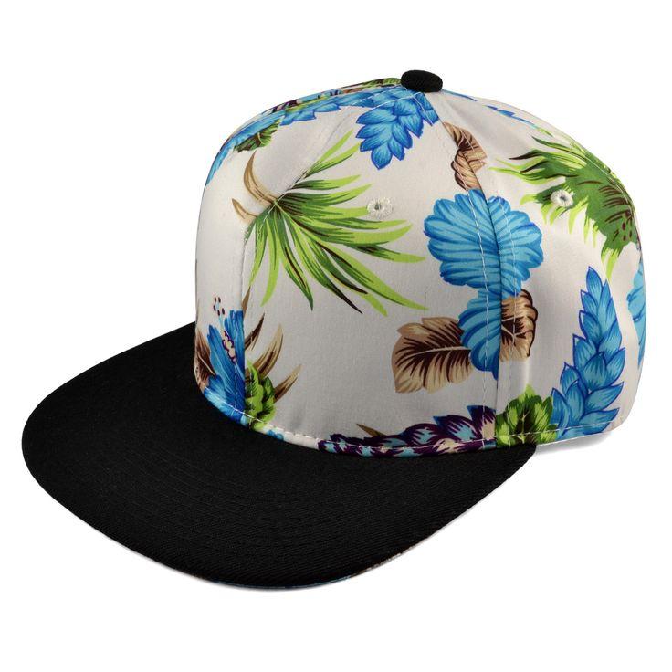 Blue Summertime Snapback Cap - 199,00kr