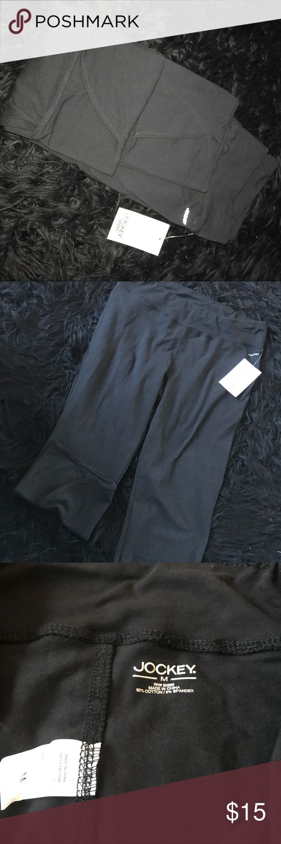 Jockey Workout Capri Jockey Workout Capri Sz: M Color: Black NWT Jockey Pants Track Pants & Joggers