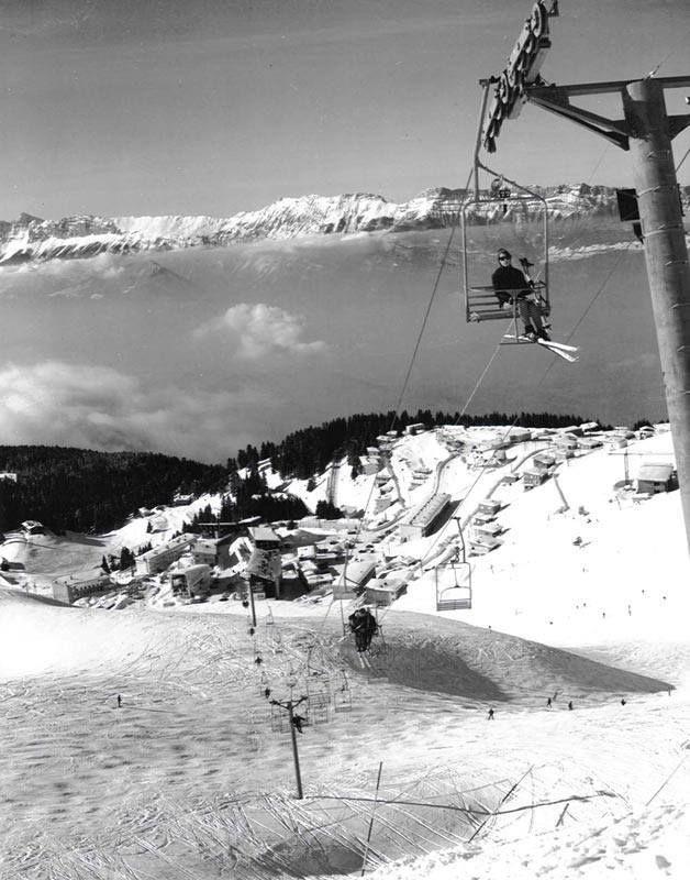 CHAMROUSSE - Station de ski de Chamrousse - JO 1968